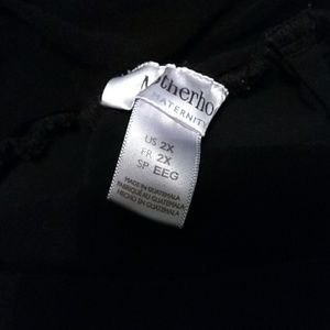 Motherhood Maternity Pants - Motherhood maternity 2x black dress pants